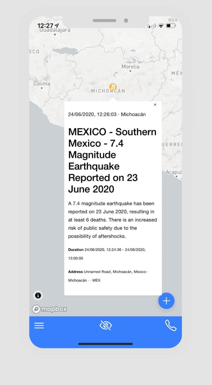 Horus-i-app-travel-security-mexico-alert-earthquake
